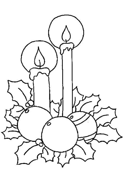 Imagenes De Velas Navideñas Para Dibujar | velas navide 241 as para colorear