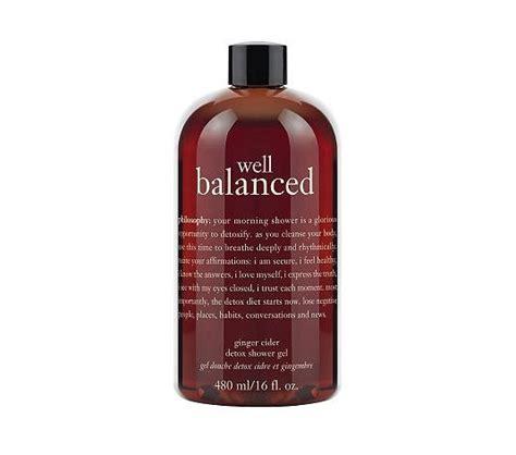 Detox Shower Gel by Philosophy Well Balanced Cider Detox Shower Gel