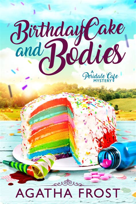 gingerbread and ghosts peridale cafe cozy mystery books birthday cake and bodies out now agatha