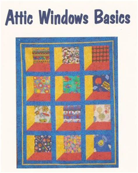 attic windows basics pattern