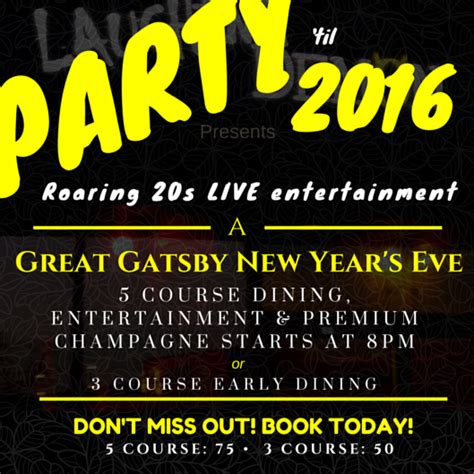 new years eve with us laughing demon gastropub
