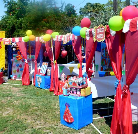 carnival themed games carnival booth pvc frame plans diy carnival booths
