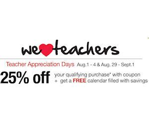 office depot coupons for teachers teachers free coupon calendar at officemax office