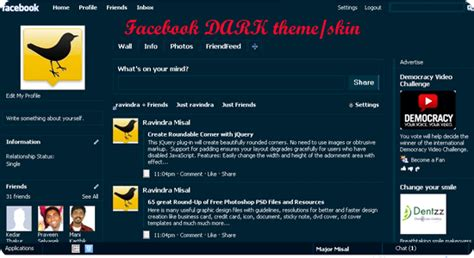 themes facebook and skin 45 facebook themes images frompo 1
