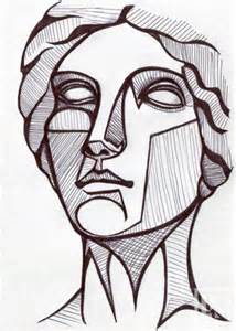 Drawing Ideas drawing idea greek or roman statue portrait laura kranz