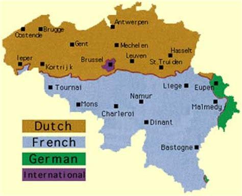 belgium language map belgium language map my