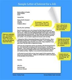 sle letter of interest types of interest