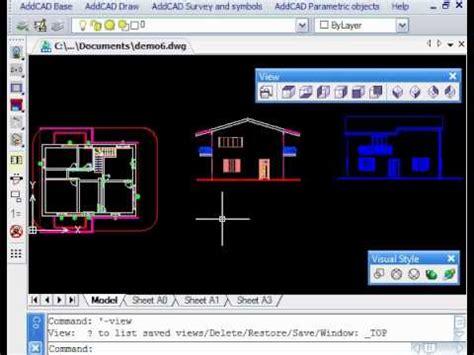 disegnatore cad da casa 15 generazione viste 2d 3d prospetti e sezioni