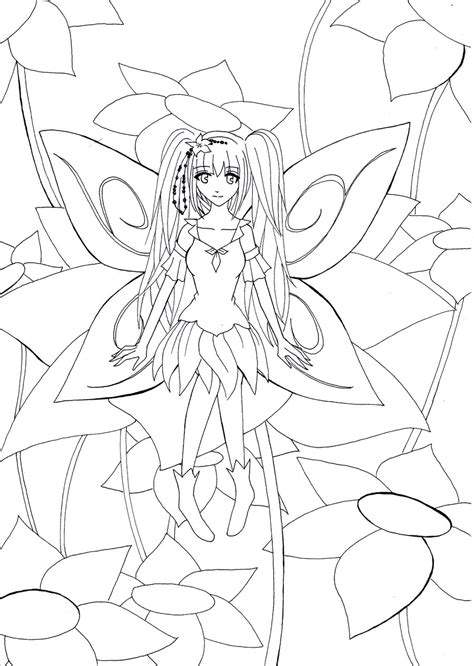 Beautiful Anime Coloring Pages Printable Coloring Pages Coloring Pages Of Beautiful Anime