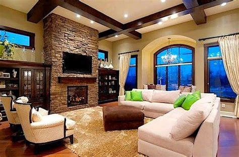 love   fireplace  sectional couch kind