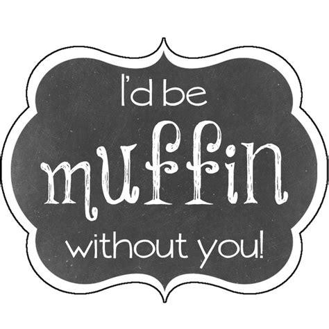 super simple diy muffin valentine gift   freebie