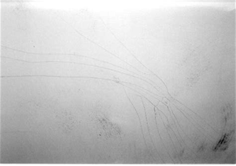 boat paint cracking yacht survey photo hull design defects part ii