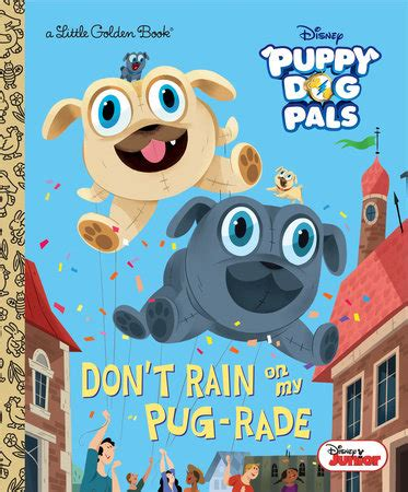 pug pals disney golden book