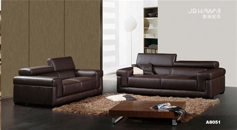 Cow Genuine Real Leather Sofa Set Living Room Sofa Leather Sectional Sofa Set