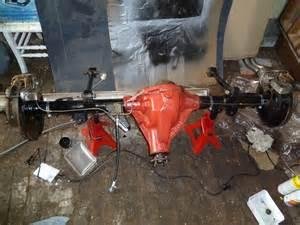 Jaguar Mk2 Rear Axle Jaguar 2 240 Restoration Rear Axle And Brakes