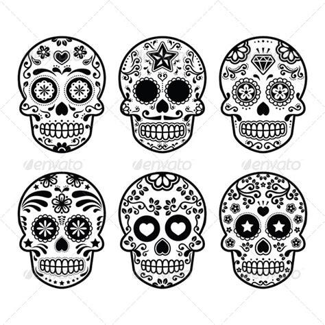 sugar skull design template sugar skull background 187 dondrup