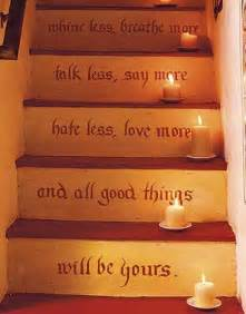 Stairs Quote by 20 Unusual Interior Decorating Ideas For Wooden Stairs
