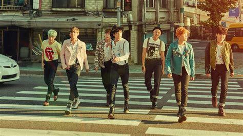bts team crossing road hd wallpapers hd wallpapers id