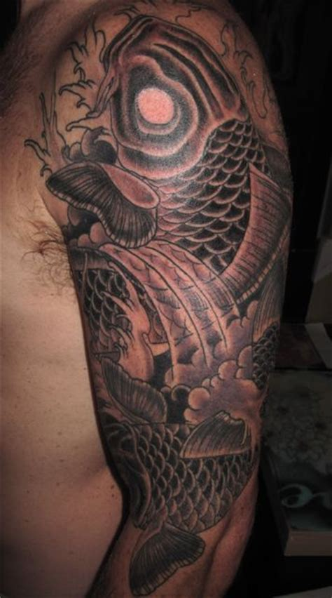black koi tattoo 254 best images about black and grey tattoos on
