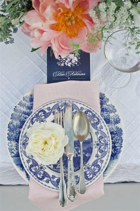 Vintage Wedding Aisle Ideas by Vintage Blue China Wedding Ideas Aisle Society