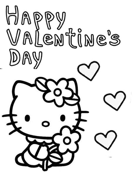 hello kitty heart coloring page free coloring pages of hello kitty heart