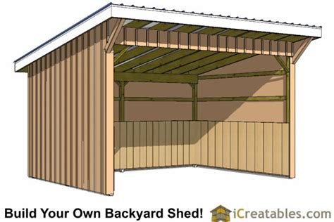 using steel to modernize your horse barn plans general steel run in shed plans building your own horse barn icreatables