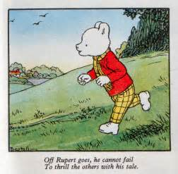 yorkshire rupert bear country velvet rocket