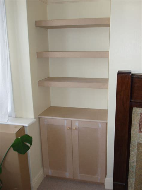 Nice Bookcases Alcove Shelving Smudge Creation