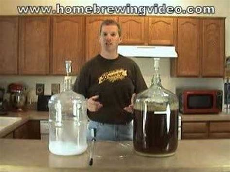 When To Rack To Secondary Fermenter by Episode 014 Racking To A Secondary Fermenter