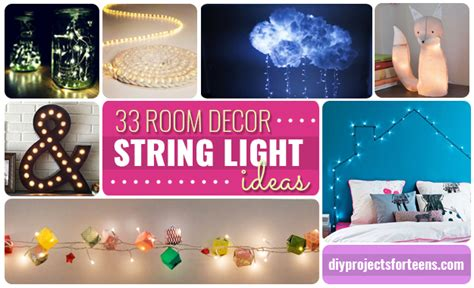 awesome diy room decor 33 awesome diy string light ideas