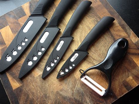 abundant chef ceramic knife set review get cooking