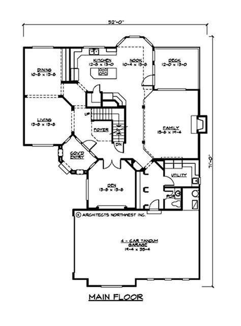 3800 Sq Ft House Plans European Home With 3 Bedrms 3800 Sq Ft Plan 115 1171