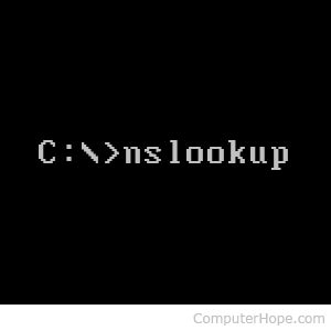 Ns Lookup Ms Dos Nslookup Command Help