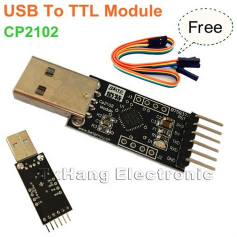 Usb To Ttl Type Cp2102 Module new cp2102 usb 2 0 to uart ttl 6pin module serial converter free cables chang e 3 and usb