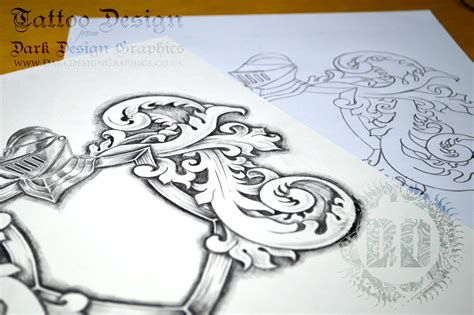 coat of arms tattoo designs coat of arms template stencil drawing