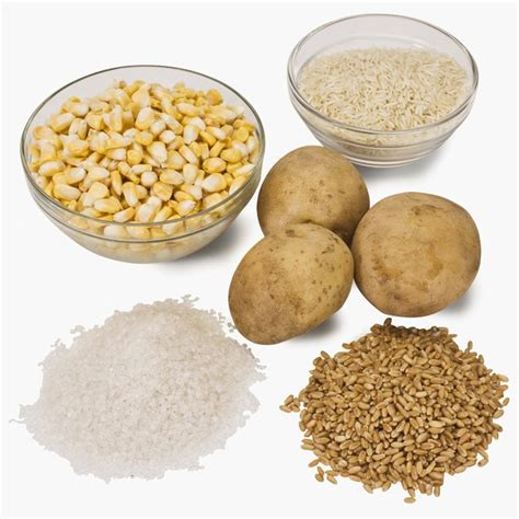 carbohydrates 100 grams carbohydrates in rice vs potatoes livestrong