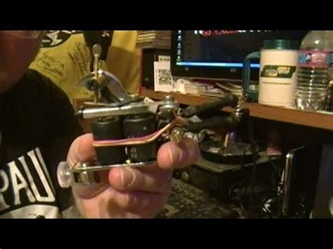 how to tune a tattoo machine how to tune a machine liner shader
