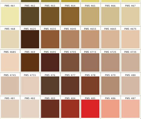 pantone brown csp usa dot net pantone matching system color chart