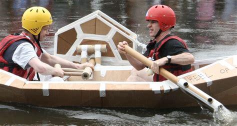cardboard boat paddles cardboat designs