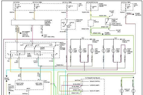 1994 jeep grand wiring diagram 39 wiring i a 1994 jeep grand the blinkers were