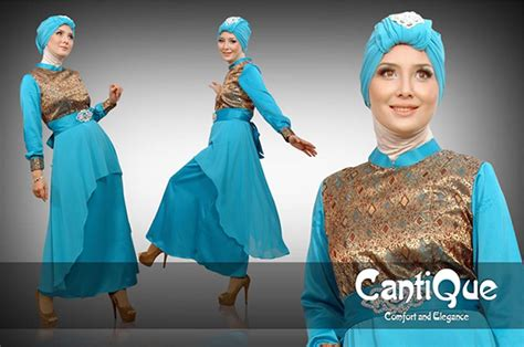 Songket Tosca Mix gaun muslimah modern march 2014