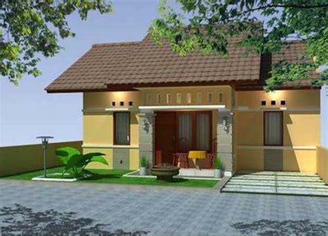 model desain rumah minimalis tropis 1 lantai asianbrainhippo