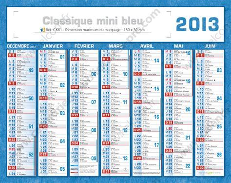 Calendrier 2013 Avec Vacances Scolaires Calendrier Publicitaire Petit Format