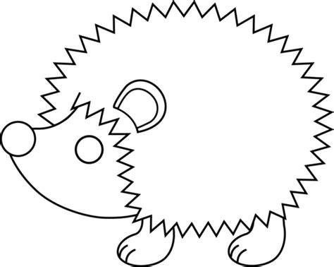 cute hedgehog coloring pages cute hedgehog line art free clip art