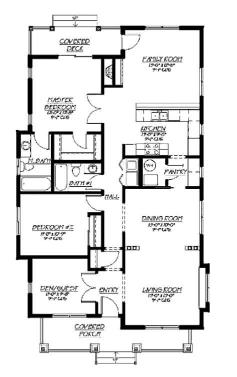 1500 sq ft house plans with garage craftsman style house plan 3 beds 2 baths 1500 sq ft plan 422 28