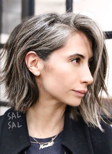 lovely grey streak hair lovely grey streak hair 17 best ideas about streaks in