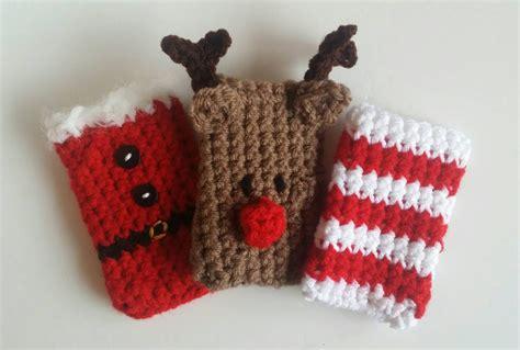 Crochet Christmas Gift Card Holder - crochet christmas gift card holders 3 pack