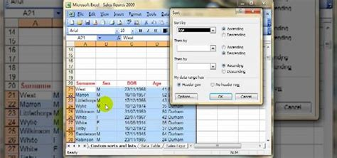 excel sort multiple columns individually sort a row in excel sort multiple columns individually sort a row in