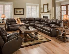 Leather Sectional Sofas With Recliners Recline Designs Furniture Hton Brown Leather Reclining Sectional Traditional Sectional