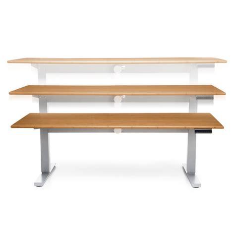 Ofm Motorized Height Adjustable Stand Up Desk 60 Quot Wide Motorized Adjustable Height Desk